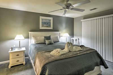 All 3 bedrooms are complete with brand new furnishings and mattresses.