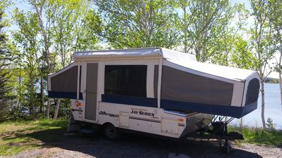 Photo for Family Tent Trailer with bathroom