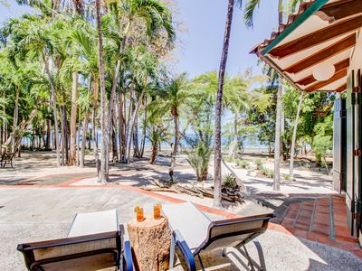 Photo for Dreamy, waterfront beach house w/ a full kitchen, furnished patio, & firepit