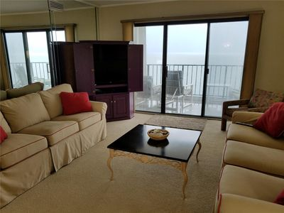 Photo for FREE DAILY ACTIVITIES! Beautiful 3 bedroom, 2 bath oceanfront condo in the Plaza Condominiums.  NEW TO THE PROGRAM IN 2017!!!