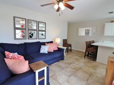 Photo for Beachside Villas 1012, 2BR/2BA condo!  Just steps to the pool and beach!