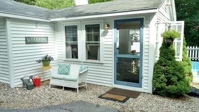 Photo for Quaint Cottage in Private Wooded Setting | Close to Lakes | Dogs Welcome