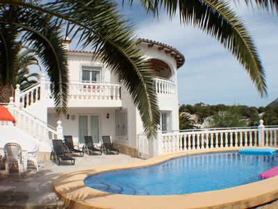 Photo for Amapolas - fantastic sea view villa in Moraira