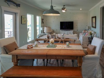 Photo for Gulf View ~ short walk to the beach~ 3 bedroom/ 2 bathroom