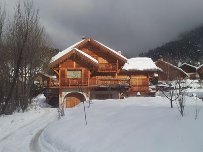 Photo for Saint Chaffrey: Charming Chalet Comfortable And Homely, Great Views, Skiing Close By