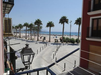 Photo for Beautiful  front-line apartment, in Villajoyosa old town
