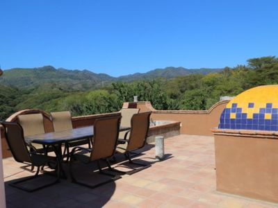 Photo for Incredible quiet one bedroom with awesome terrace with great mountain views