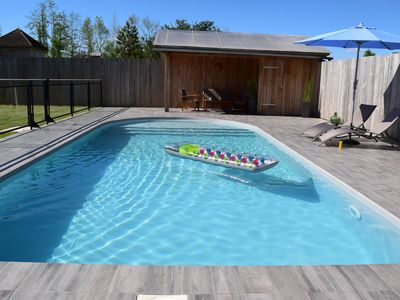"""Photo for """"DOUCE FRANCE"""" IDEAL 1 COUPLE/Private Heated Pool/Air Cond/ Relaxation/Quiet"""