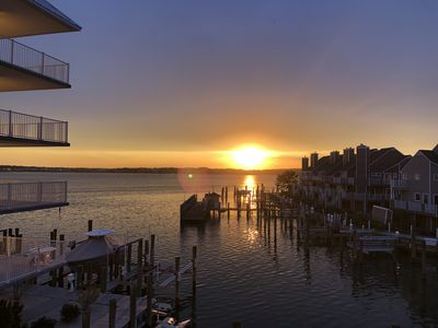 Photo for 3 Bedroom Bay-front Condo, Walk to the Beach and White Marlin Open Views