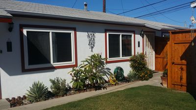 Photo for Charming Ocean Beach Bungalow 1 Block from Beach