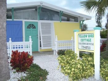 Welcome to Yellowbird Cottages located on AMI's north end, steps to the beach.