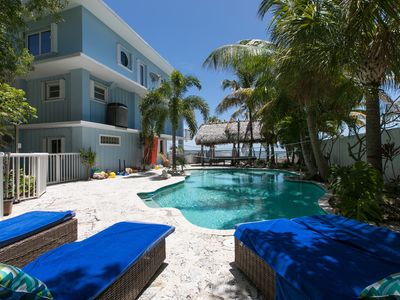 Photo for Ocean Front with large heated Pool & Hot Tub 5Br/4B 28 foot boat on property.