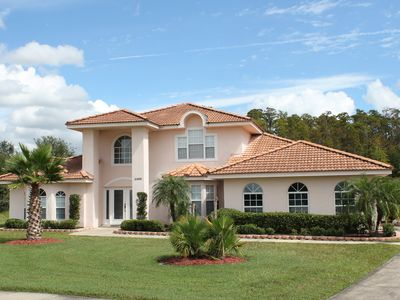 Photo for Outstanding Kissimmee vacation home with pool & Spa, off Poinciana Blvd