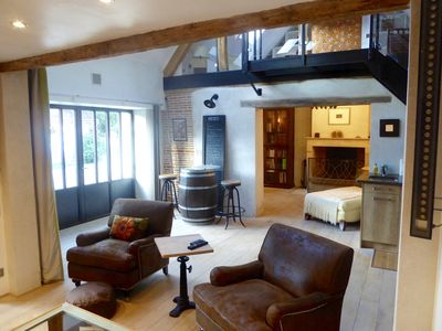 Photo for A Cozy, Techy, Lofty Barn in the Heart of the Loire Valley Grands Chateaux Area