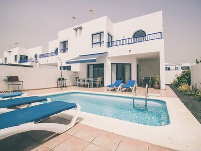 Photo for Villa in quiet a few steps from the promenade area of ​​Playa Blanca