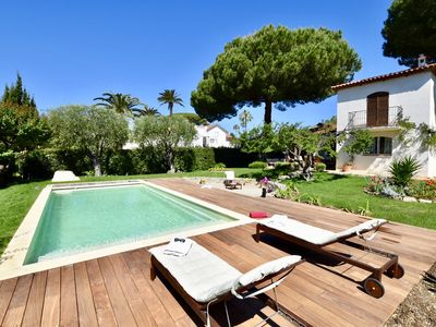 Photo for Superb villa with pool and beach at 20 m!