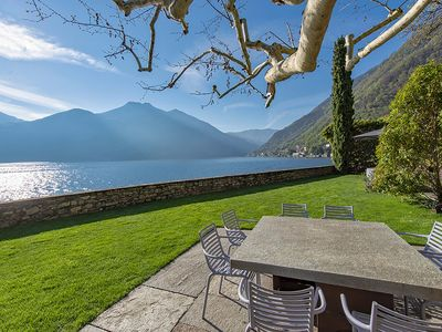 Photo for Villa Filanda is a unique property in Lake Como, with direct access to lake, 4 bedrooms, 4 bathrooms