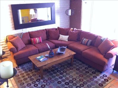 Extra large lounging sofa for you and 10 of your closest friends (well, maybe 3)