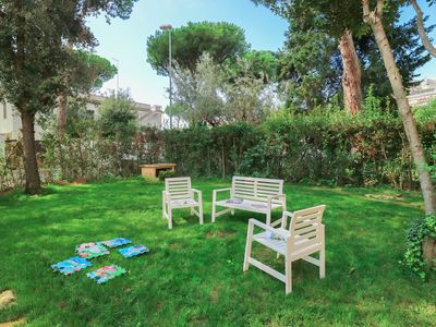 Photo for MR74 ✶ Santa Severa Blue Garden House ✶ 6 Guests Wifi ✶ 300m from Beaches