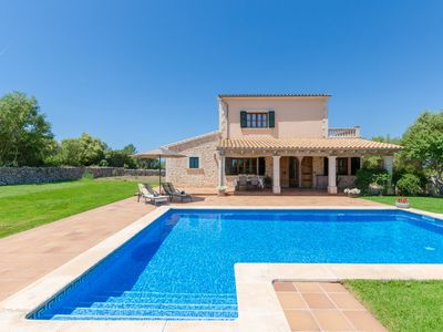Photo for ES VEDAT - Villa with private pool in Lloret De Vistalegre.