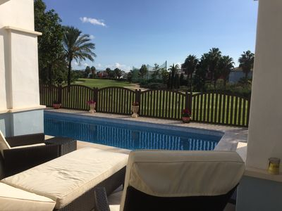 Photo for Two Bedroomed Villa on front line golf on the Mar Menor Golf Resort