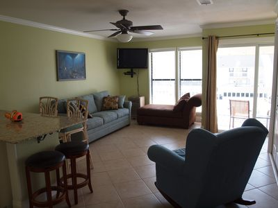 Photo for Accross the street from the Private Beach, Beautiful condo, FREE WIFI!