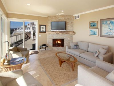 Photo for Beachfront 2BR/2BA w/ Pool, Private Patio & 180-Degree View of Monterey Bay