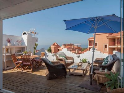 Photo for SUITUR IDYLLIC DUPLEX FOR FAMILIES, WITH SEA VIEWS AND SPECTACULAR TERRACE.