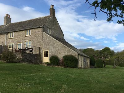 Photo for Lovely cottage with spectacular views of Corfe Castle and the Purbecks
