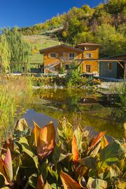 Beautiful eco-house, natural pool, stunning views, very private location