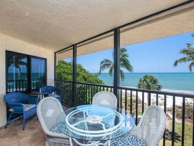 Photo for Escape to Paradise at Pointe Santo E37 - 3 BR/2 BA, Gulf View, Large Lanai - fully updated!