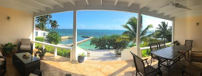 Photo for Ocean Front, Private Pool & Dock, Kayaks, Free WiFi, A/C, Family Home,  Gated
