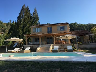 Photo for New to HomeAway with stunning views of the River Dordogne