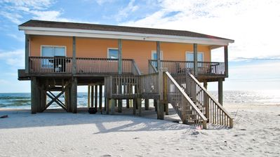 Photo for 4 Bedroom Gulf-front Beach House with Great Views