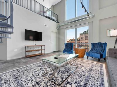 Photo for New! Stylish 3BR Loft in Wicker Park by Domio