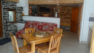 Photo for Grand Studio 35 M² 2/4 Places 100 m from the gondola Maurienne via Val Thorens
