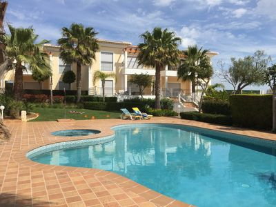 Photo for 3 bedroom 2 bathroom luxury apartment with pool/jacuzzi 8 mins to beach