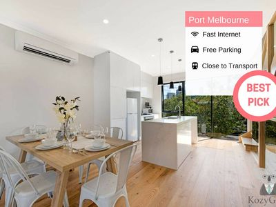 Photo for 1BR Townhome Vacation Rental in Port Melbourne, VIC