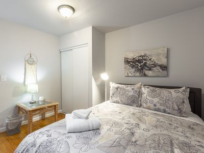 Photo for NEW!2BR Guest House | Downtown Redwood City | Free Parking | Sleeps 5