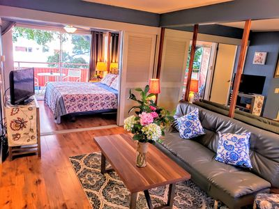 Photo for Cozy and Comfortable, one bedroom, in the heart of Waikiki