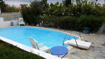Photo for MARIA'S HOMEY WITH PRIVATE POOL ONLY 200M FROM BEACH