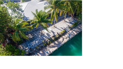Photo for Fabulous home on pristine canal in Cudjoe Gardens