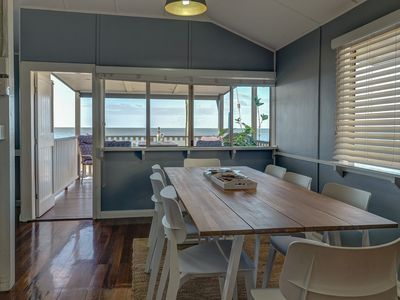 Photo for Sublime Beachfront Queenslander on the Esplanade