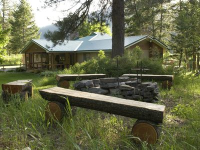 Photo for Stunning Home At Rock Creek, in The Mountains Of Western Montana...