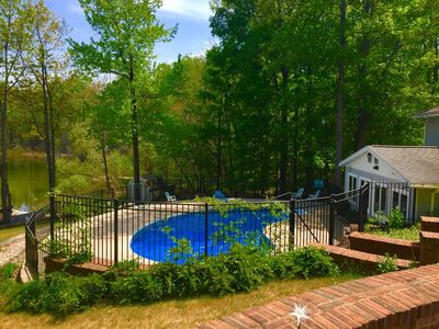 Photo for Lily Pad Cove-Unique home with inground outdoor pool- Sanford Lake-Lake Ann
