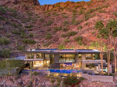 Hillside Luxury Mansion on Camelback Mtn! Best Location in Old Town!