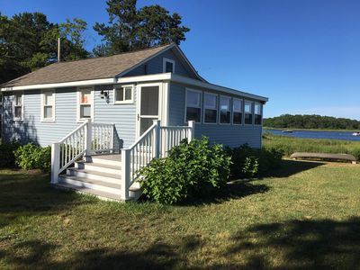 Photo for Waterfront cottage with stunning views on tidal Weweantic River
