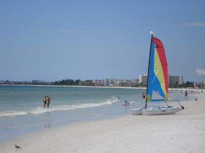 Photo for Siesta Key private beach access