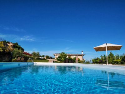 Photo for Villa Modern, wonderful and exclusive villa with pool in Cupra Marittima, 4 km from the Adriatic Sea