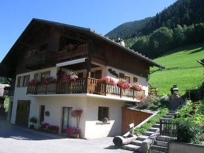 Photo for Gite 8 people, spacious with panoramic views, Arêches (73)